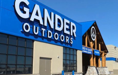 Holden Electric Co. worked with Gander Outdoors on a renovation of their store in Baxter, Minnesota.